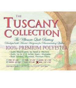 tuscpolyking Polyester Vlies - king Tuscany