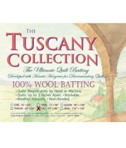 tuscwoolfull Wollvlies - Full Tuscany