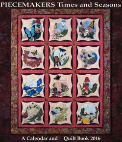 PMC2016 Calendar & Quilt Book 2016 Nature's Chorus